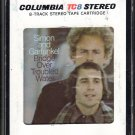 Paul Simon & Art Garfunkel - Bridge Over Troubled Water 1970 CBS A21C 8-TRACK TAPE