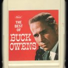 Buck Owens - The Best Of Buck Owens 1965 CAPITOL A11 8-TRACK TAPE