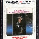 Ray Price - All Time Greatest Hits 1972 CBS A52 8-TRACK TAPE