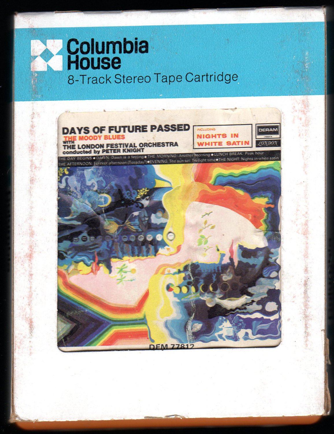 The Moody Blues - Days Of Future Passed 1967 CRC DERAM A29B 8-TRACK TAPE
