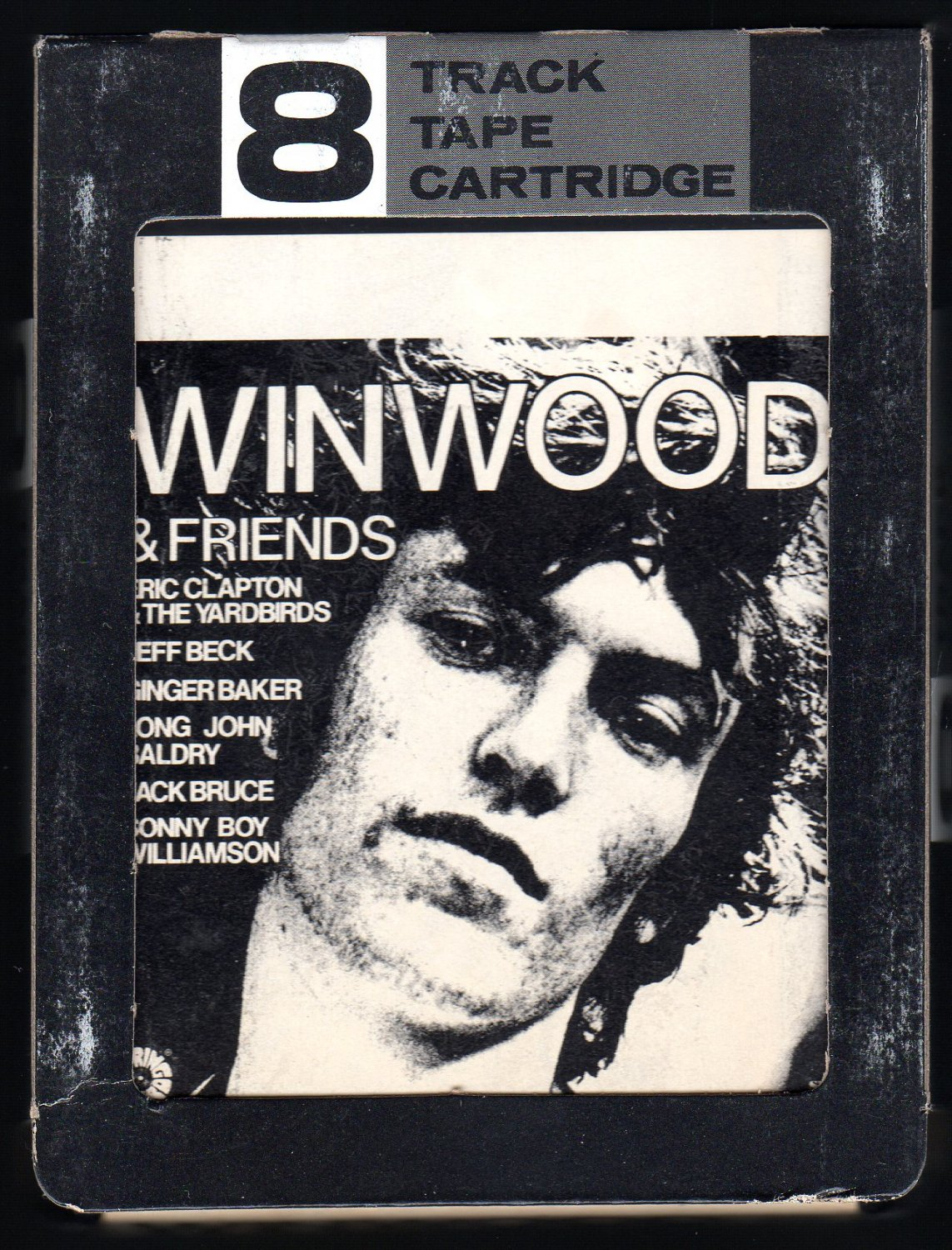 Steve Winwood - Winwood & Friends 1972 AMPEX SPRINGBOARD A39 8-TRACK TAPE