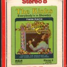 The Kinks - Everybody's In Showbiz 1972 RCA A29B 8-TRACK TAPE