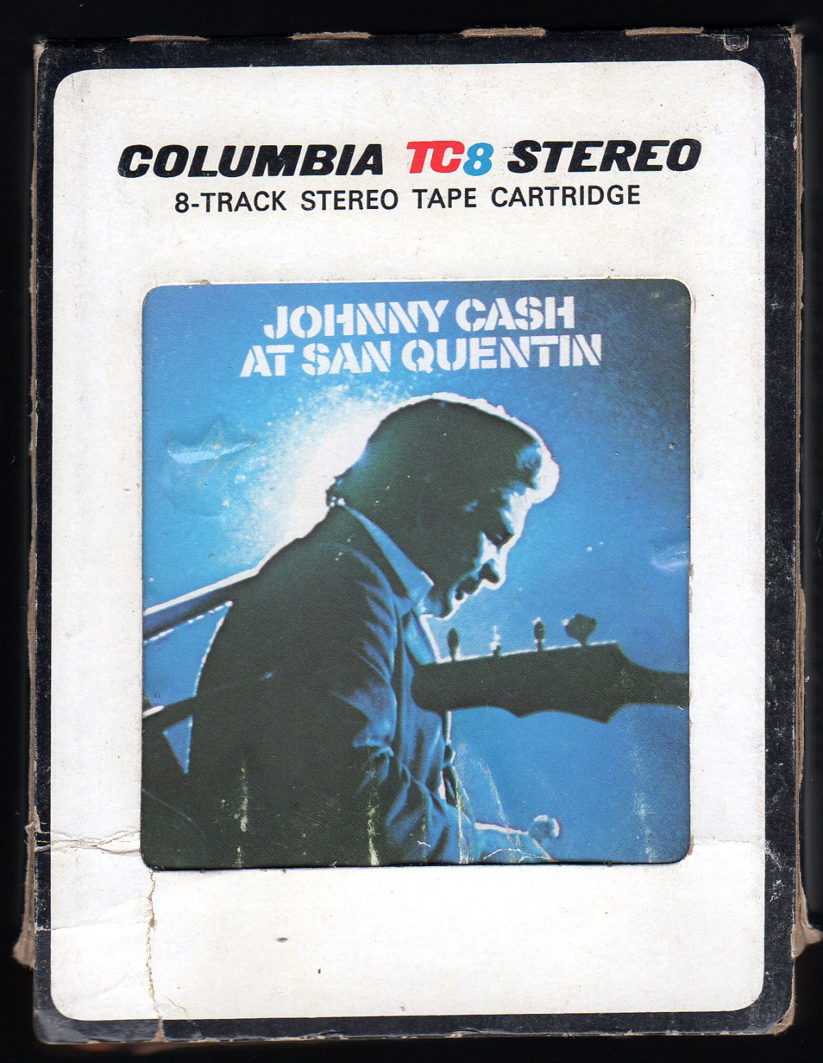 Johnny Cash - At San Quentin 1969 CBS 8-track tape