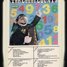 Sesame Street - The Count COUNTS 1975 SESAME STREET A25 8-TRACK TAPE