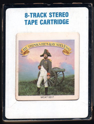 Ray Stevens - He Thinks He's Ray Stevens 1984 CRC MCA A21C 8-TRACK TAPE