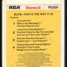 Elvis Presley - That's The Way It Is 1970 RCA A11 8-TRACK TAPE