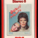 David Bowie - Pin-Ups 1973 RCA A50 8-TRACK TAPE
