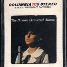 Barbra Streisand - Barbra Streisand Album 1963 Debut CBS RARE FIRST ISSUE A17A 8-TRACK TAPE
