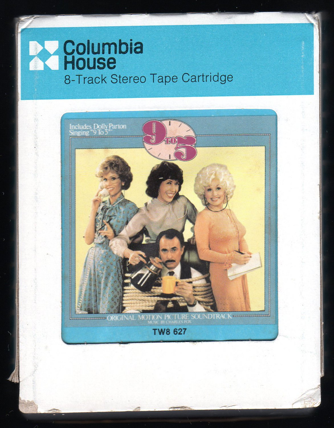 9 to 5 - Original Soundtrack Recording 1980 CRC 20CENTURY A32 8-TRACK TAPE
