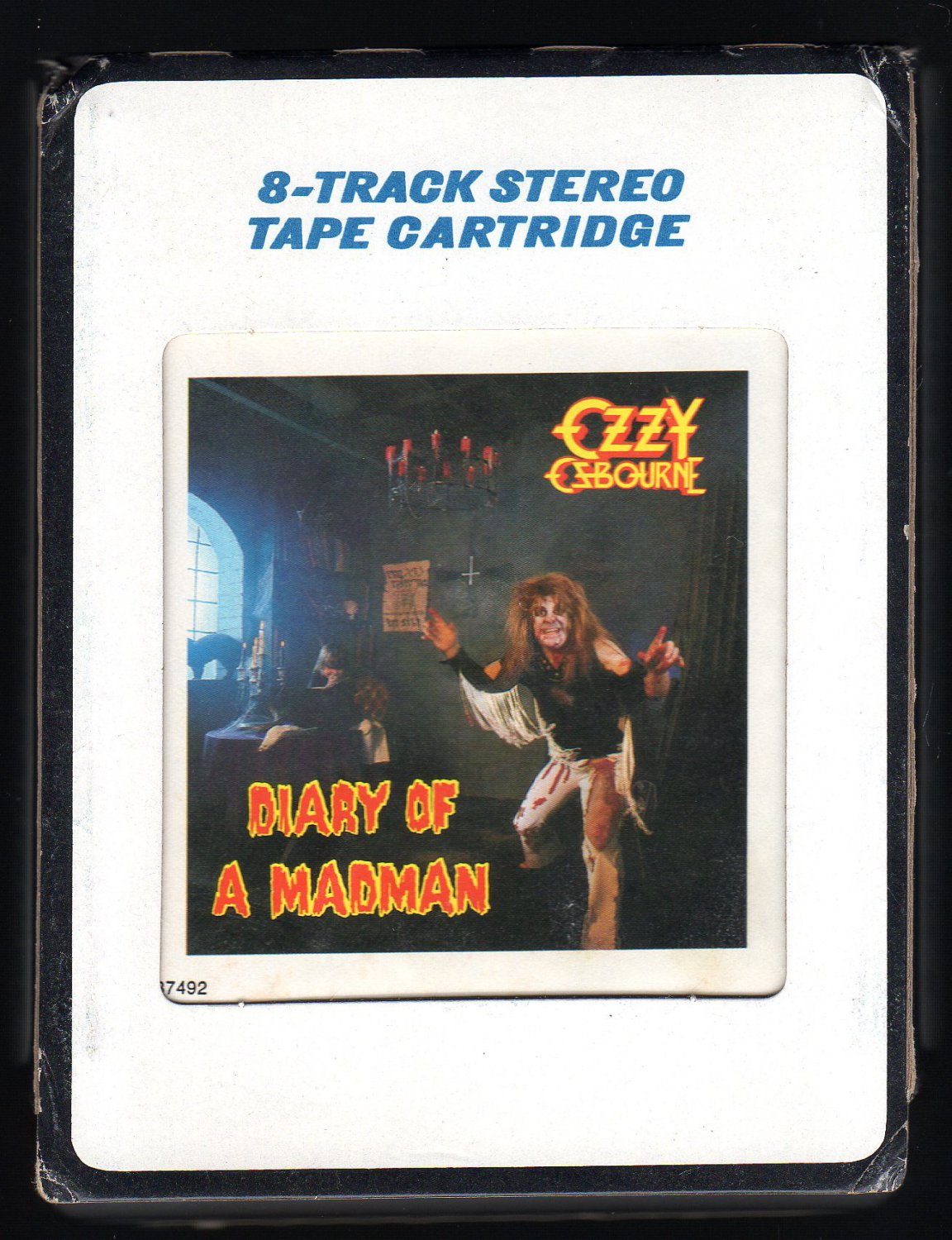 Ozzy Osbourne - Diary Of A Madman 1981 CRC JET A45 8-TRACK TAPE