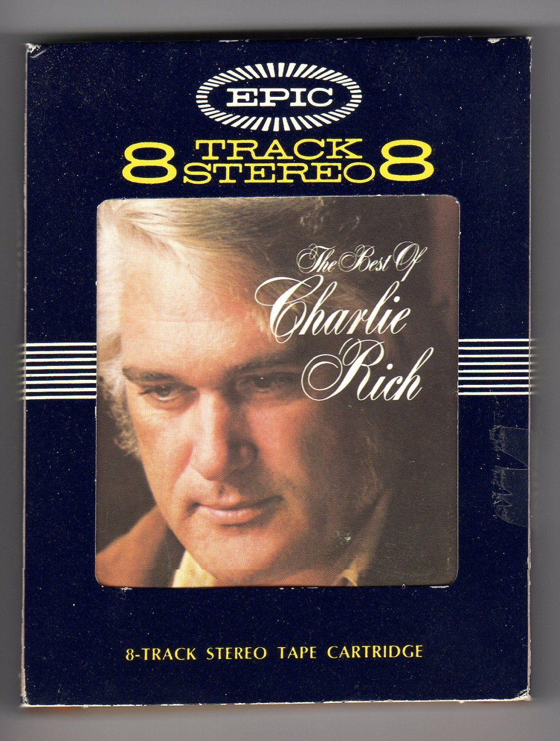 Charlie Rich - The Best Of Charlie Rich 1972 EPIC A32 8-TRACK TAPE