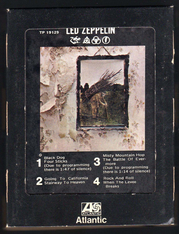 Led Zeppelin - Led Zeppelin IV ZOSO 1974 ATLANTIC A32 8-TRACK TAPE