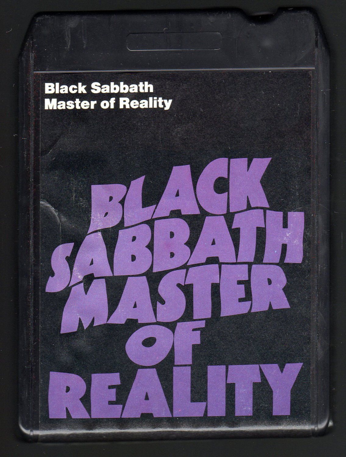 Black Sabbath - Master Of Reality 1971 WB T7 8-TRACK TAPE