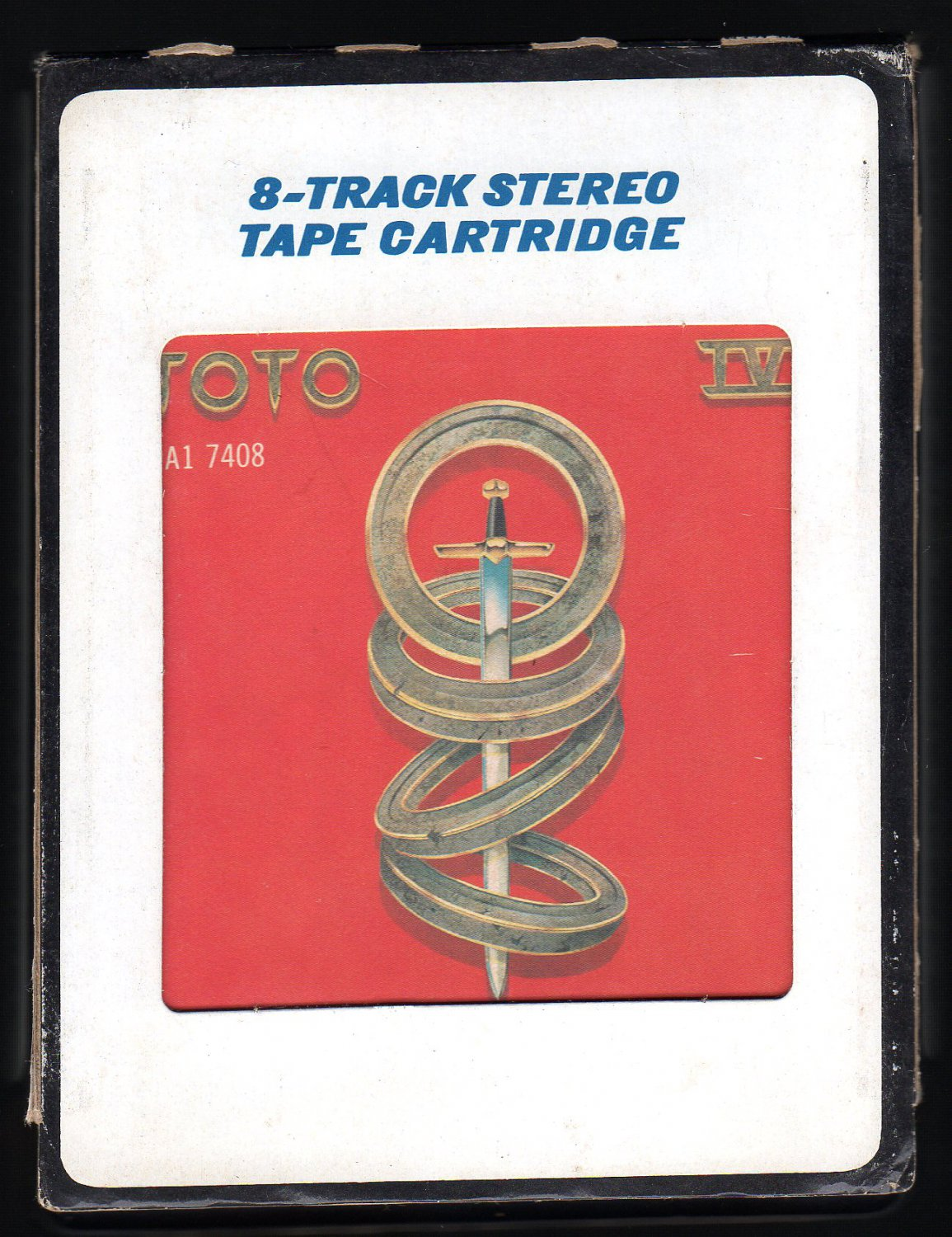 Toto - Toto IV 1982 CRC A18D 8-TRACK TAPE
