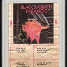 Black Sabbath - Paranoid 1970 AMPEX WB A32 8-TRACK TAPE