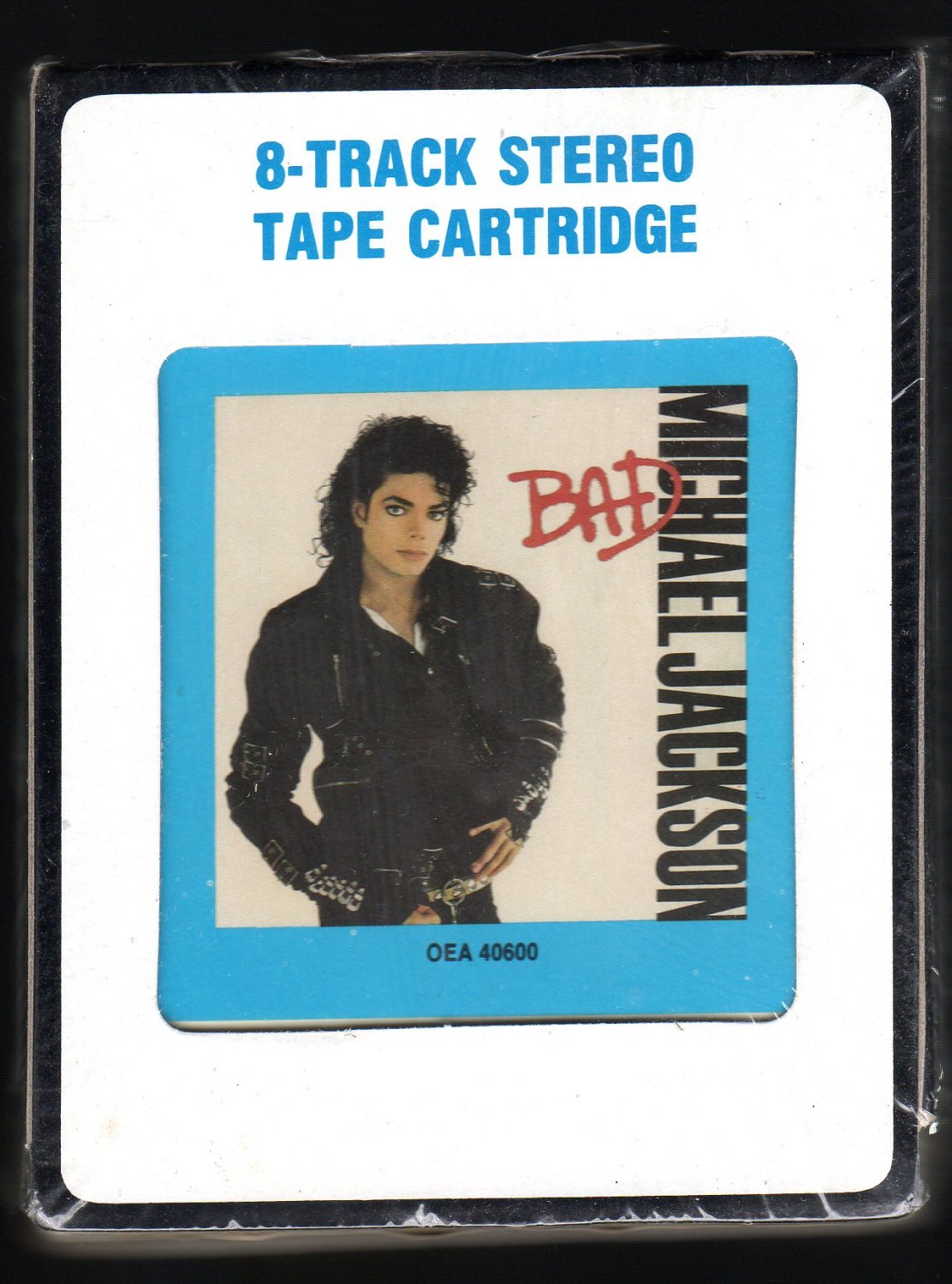 Michael Jackson - Bad 1987 CRC EPIC A32 8-TRACK TAPE
