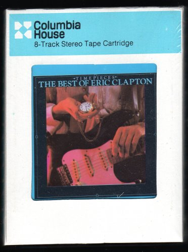 Eric Clapton - Time Pieces / The Best Of Eric Clapton 1982 CRC RSO Sealed A32 8-TRACK TAPE