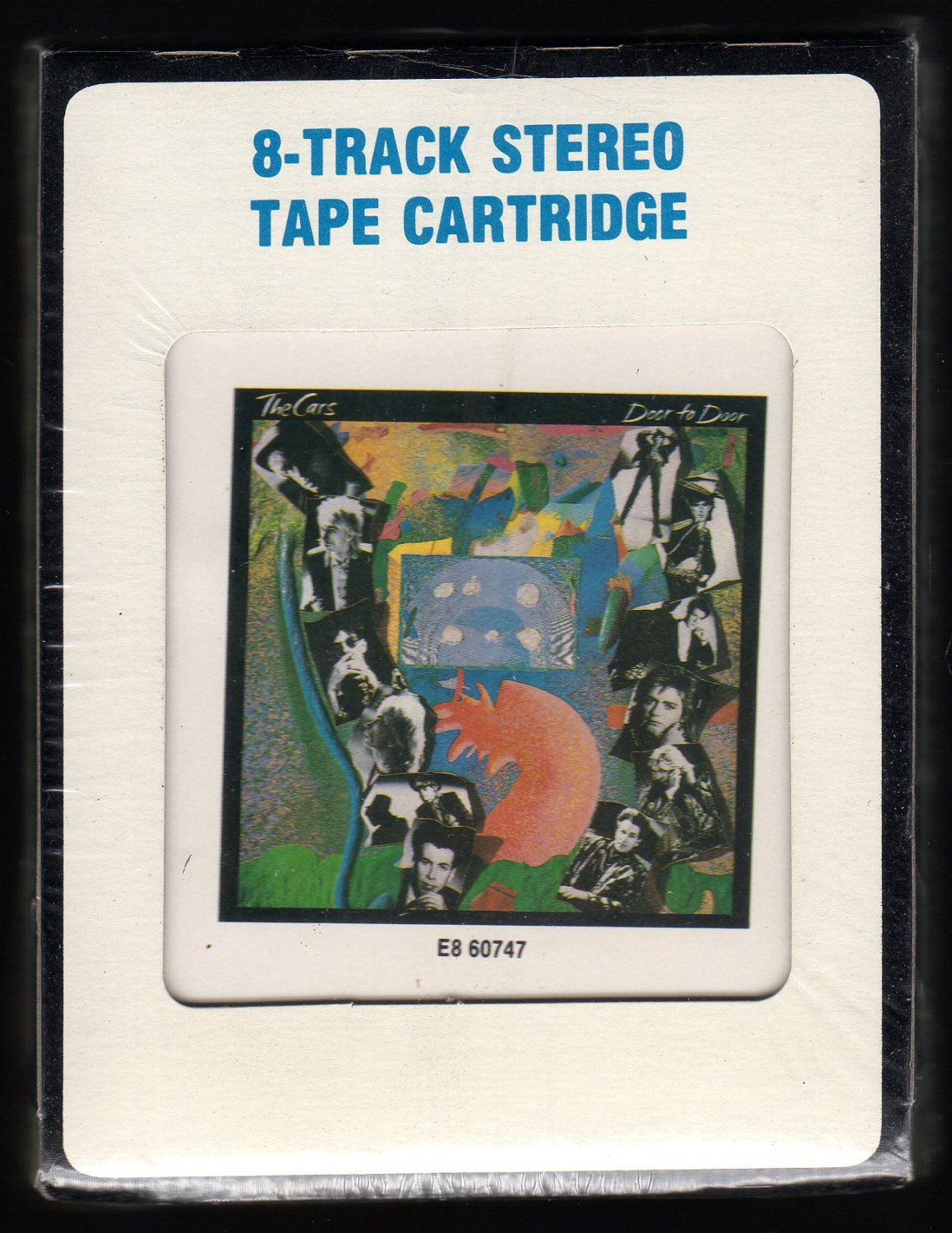 The Cars - Door To Door 1988 CRC ELEKTRA Sealed A32 8-TRACK TAPE