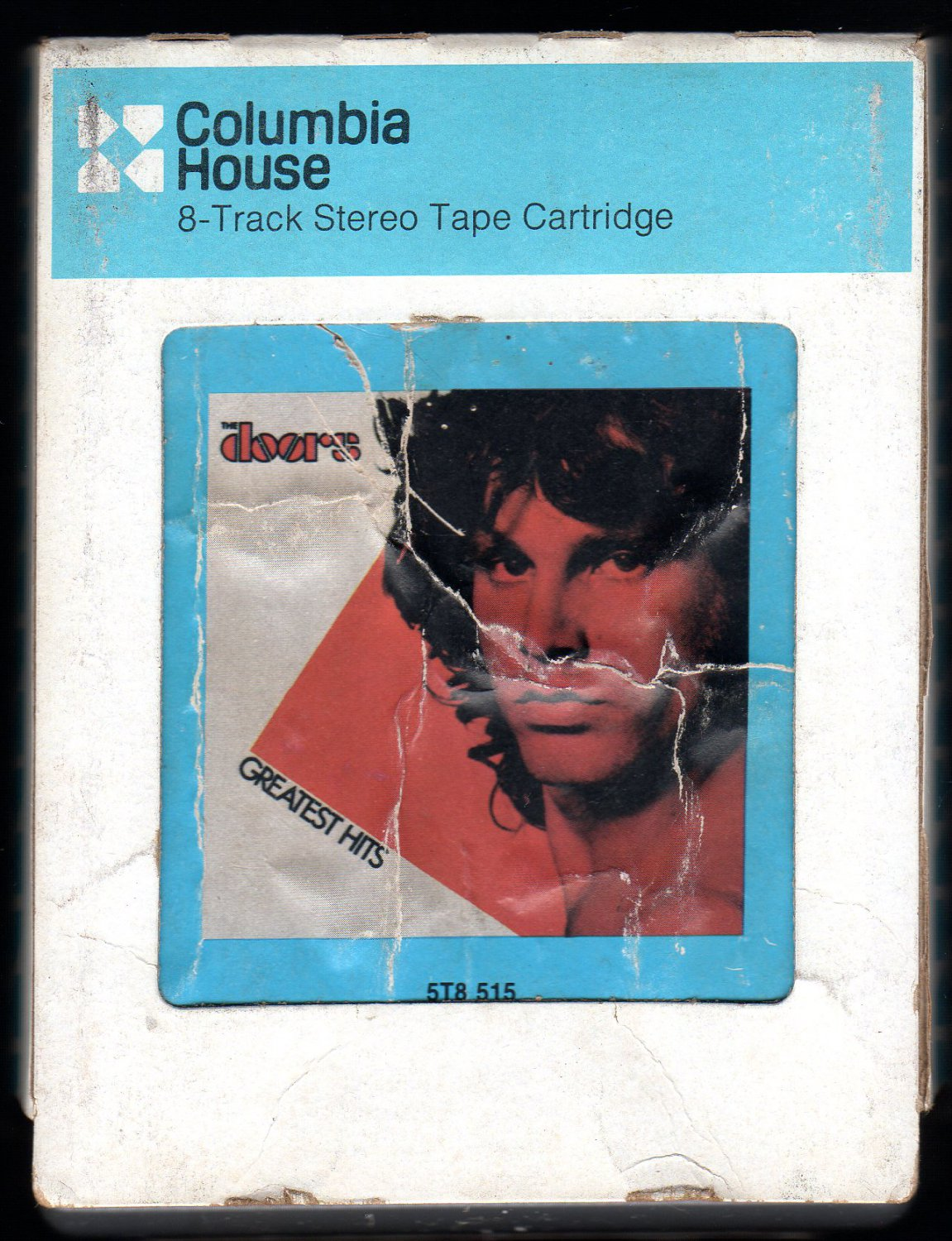 The Doors - Greatest Hits 1980 CRC ELEKTRA A32 8-TRACK TAPE