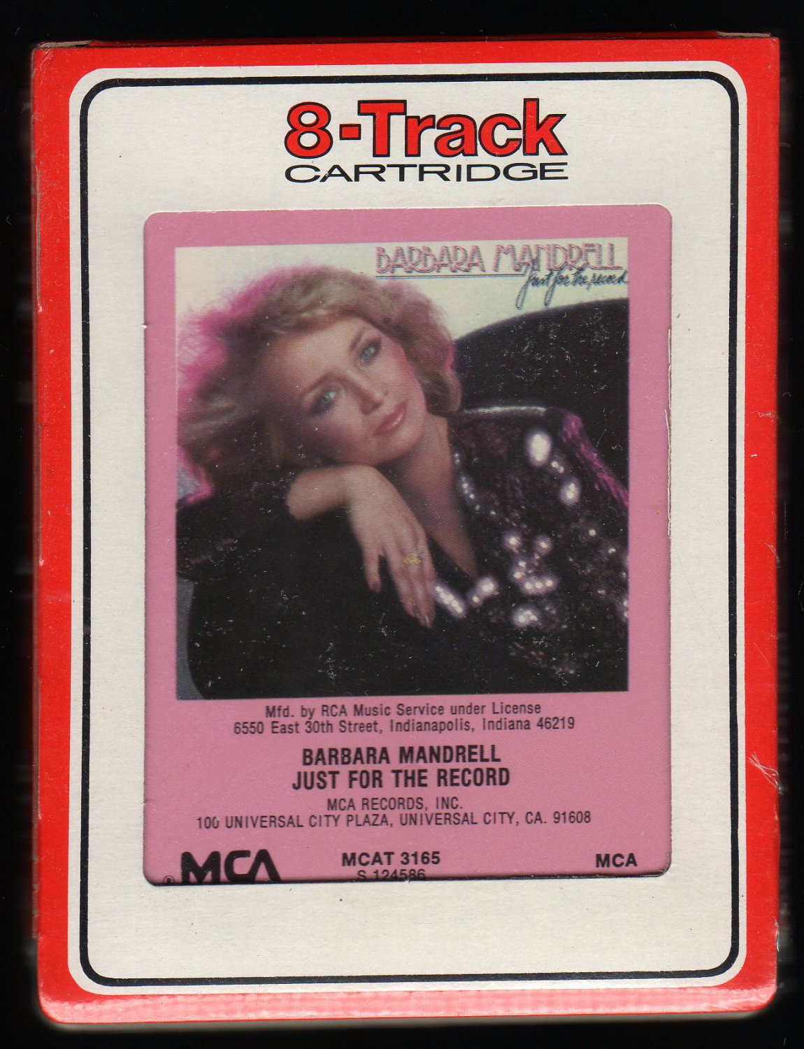 Barbara Mandrell - Just For The Record 1979 RCA MCA Sealed A32 8-TRACK TAPE