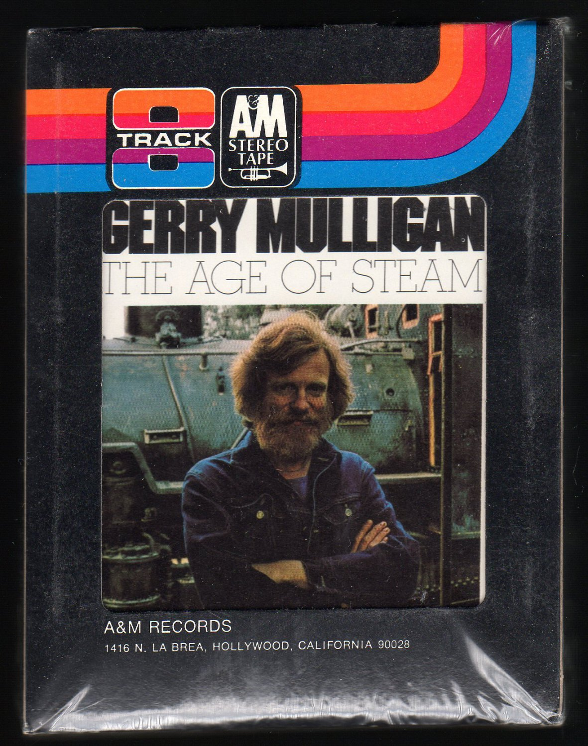 Gerry Mulligan - The Age Of Steam 1971 A&M Sealed A32 8-TRACK TAPE