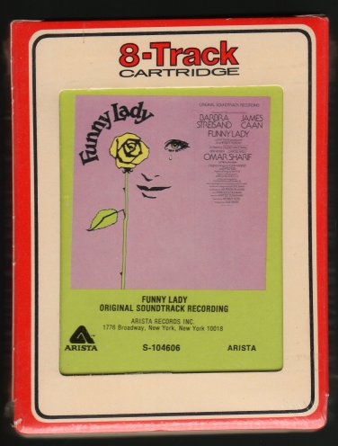 Funny Lady - Original Soundtrack Recording 1975 RCA ARISTA Sealed A32 8-TRACK TAPE