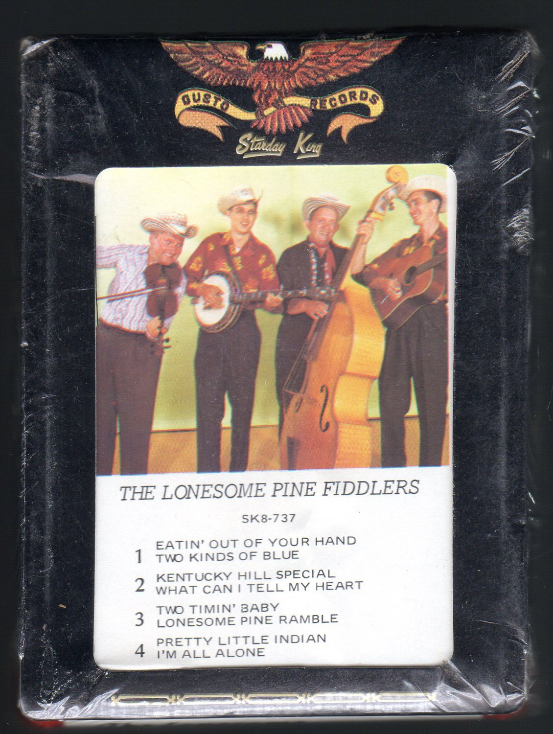 Lonesome Pine Fiddlers - The Lonesome Pine Fiddlers Part 2 1961 STARDAY Sealed A32 8-TRACK TAPE