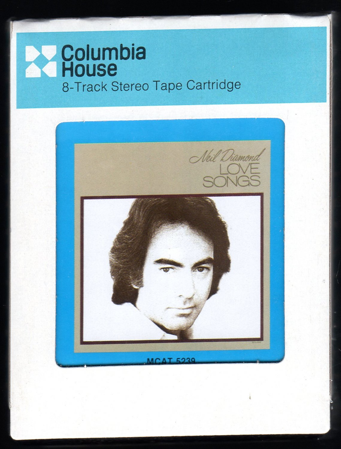 Neil Diamond - Love Songs 1981 CRC MCA Sealed A32 8-TRACK TAPE