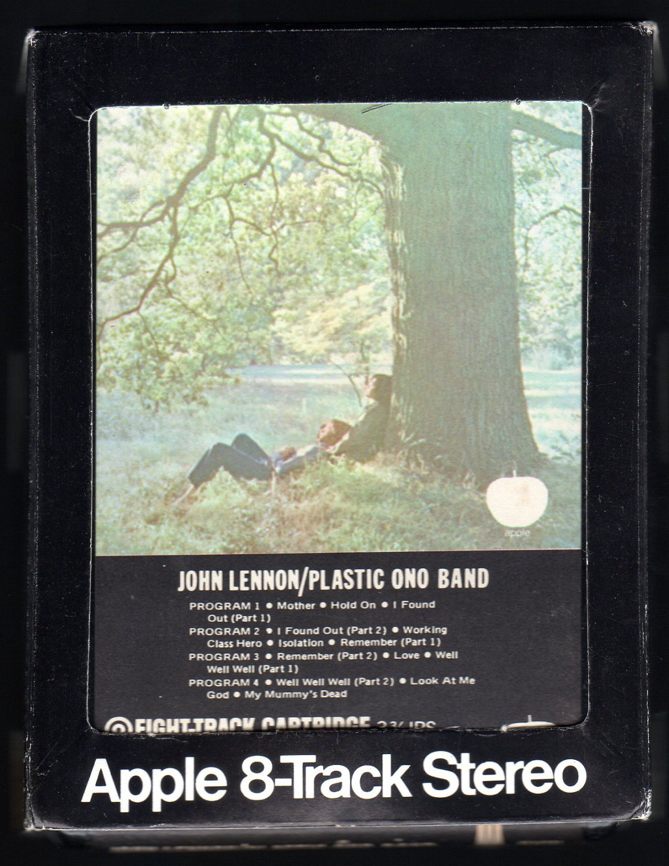 John Lennon - Plastic Ono Band 1970 Debut APPLE A32 8-TRACK TAPE