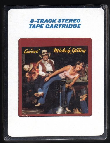 Mickey Gilley - Encore 1980 EPIC CBS Sealed A32 8-TRACK TAPE
