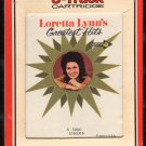 Loretta Lynn - Greatest Hits 1968 RCA DECCA Sealed A32 8-TRACK TAPE
