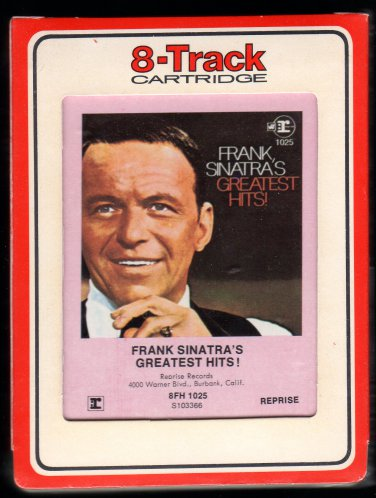Frank Sinatra - Frank Sinatra's Greatest Hits 1967 RCA REPRISE Sealed Re-issue A32 8-TRACK TAPE