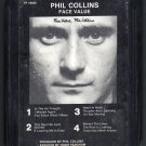 Phil Collins - Face Value 1981 Debut ATLANTIC A32 8-TRACK TAPE