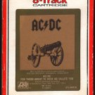 AC/DC - For Those About To Rock 1981 RCA ATLANTIC A15 8-TRACK TAPE