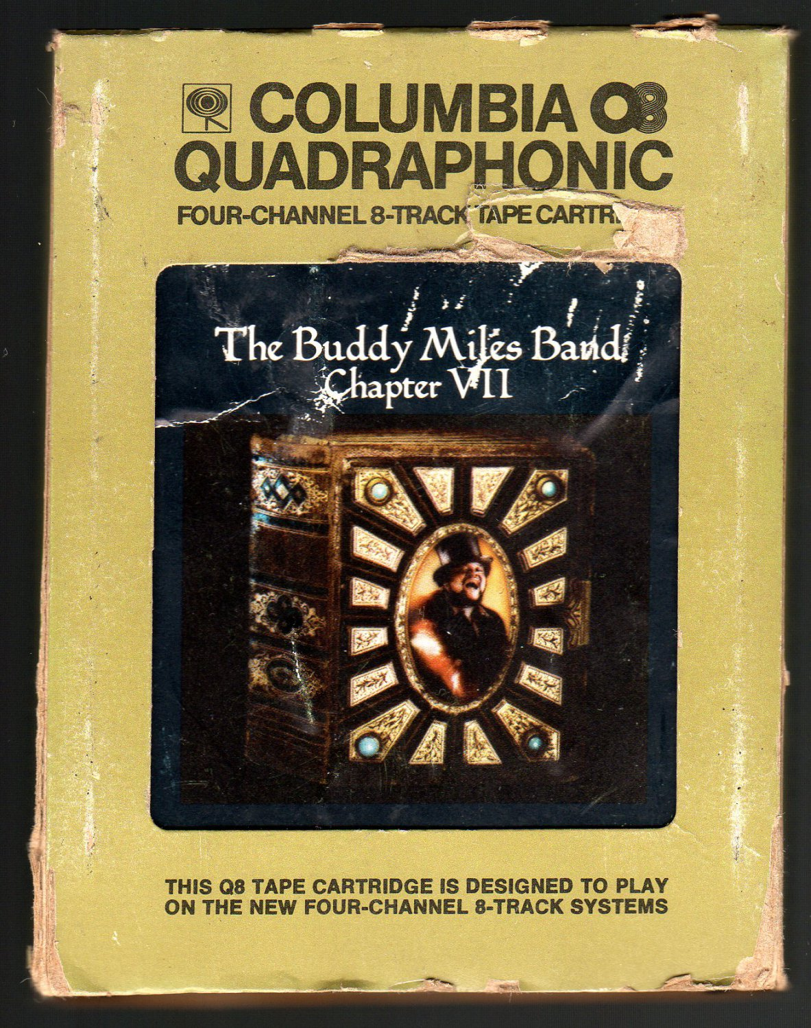 The Buddy Milles Band - Chapter VII 1973 CBS Quadraphonic AC1 8-TRACK TAPE