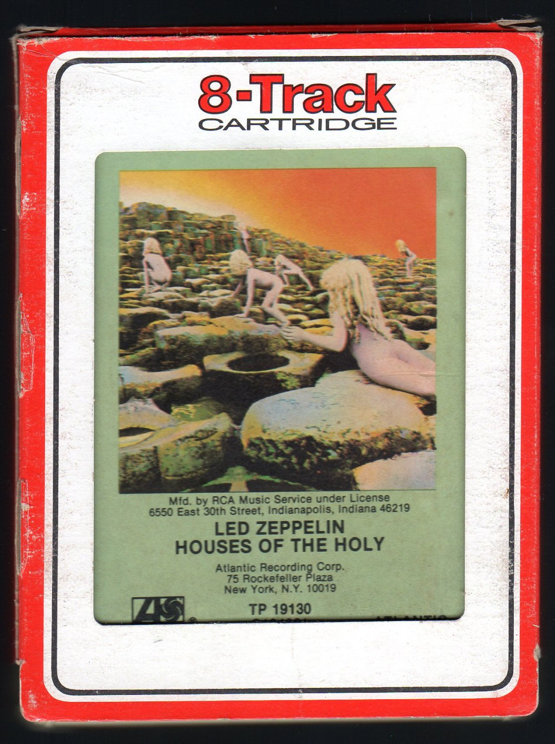 Led Zeppelin - Houses Of The Holy 1973 RCA ATLANTIC A17 8-TRACK TAPE