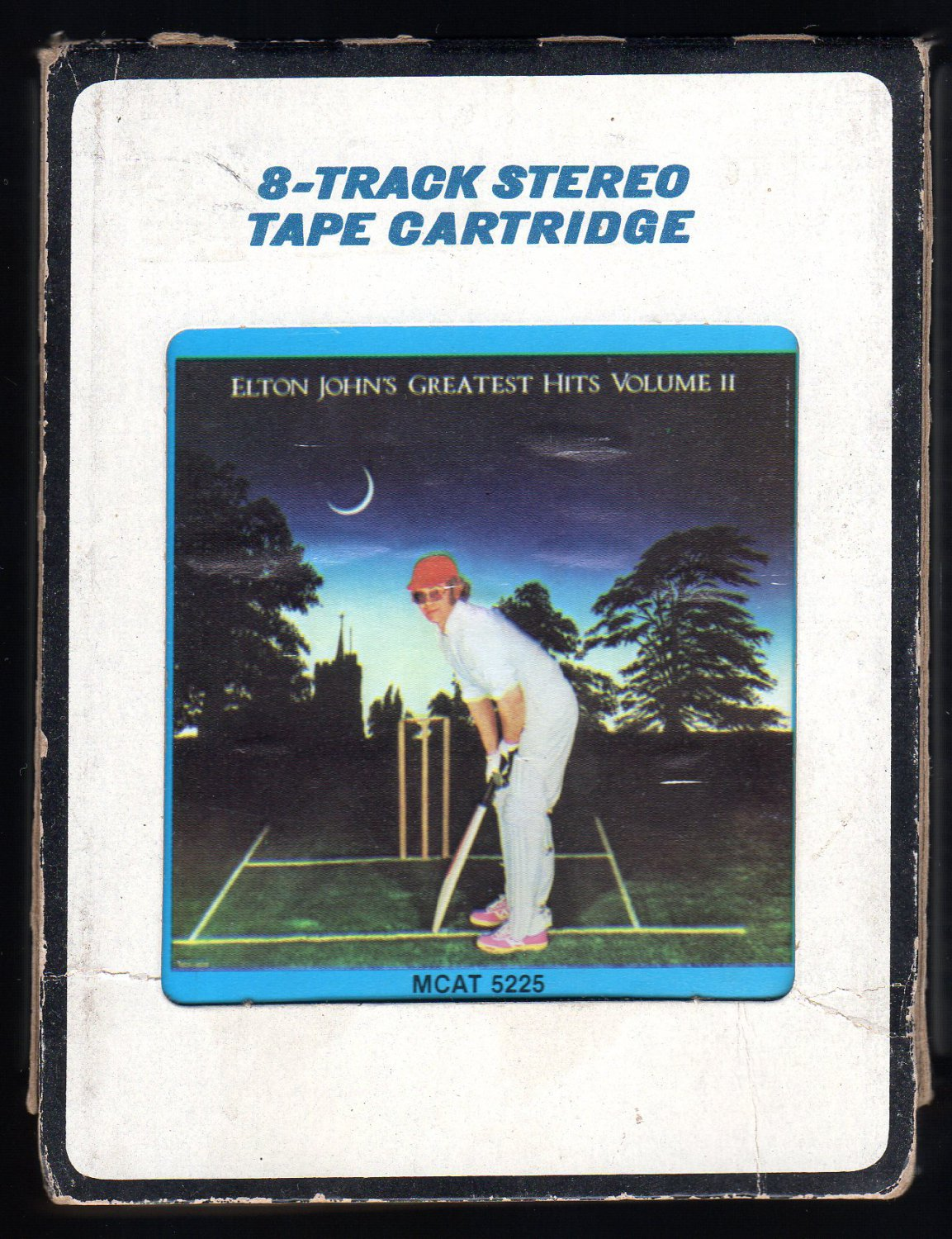 Elton John - Elton John's Greatest Hit's Vol II 1976 CRC MCA A42 8-TRACK TAPE