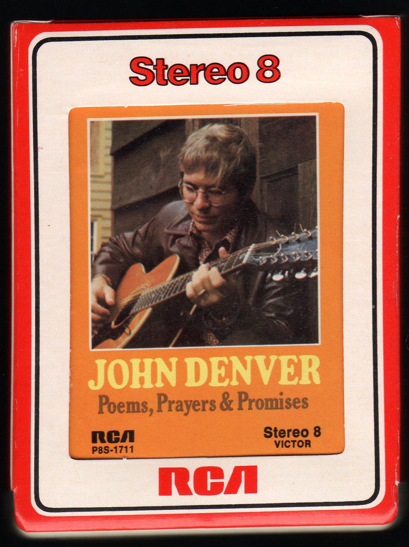 John Denver - Poems, Prayers & Promises 1971 RCA T4 8-TRACK TAPE