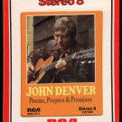 John Denver - Poems, Prayers & Promises 1971 RCA T4 8-TRACK TAPE