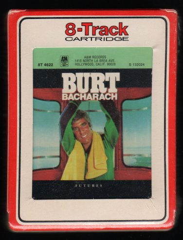 Burt Bacharach - Futures 1977 RCA A&M Sealed A13 8-TRACK TAPE