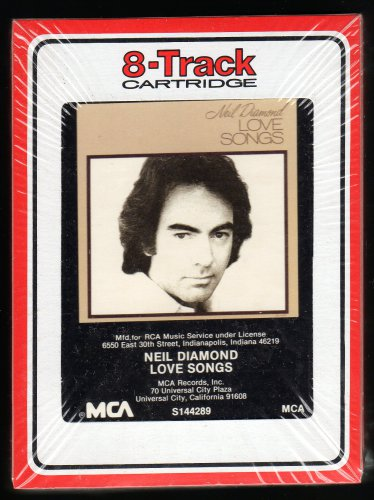 Neil Diamond - Love Songs 1981 RCA MCA Sealed A13 8-TRACK TAPE