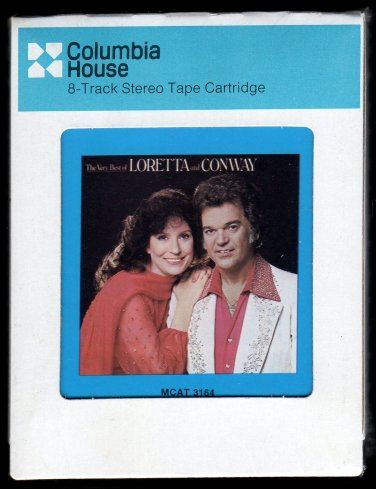Conway Twitty & Loretta Lynn - The Very Best Of  1979 CRC Sealed A13 8-TRACK TAPE