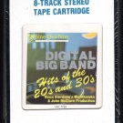 Vince Giordano's Nighthawks - Digital Big Band Hits 1984 CRC Sealed A13 8-TRACK TAPE