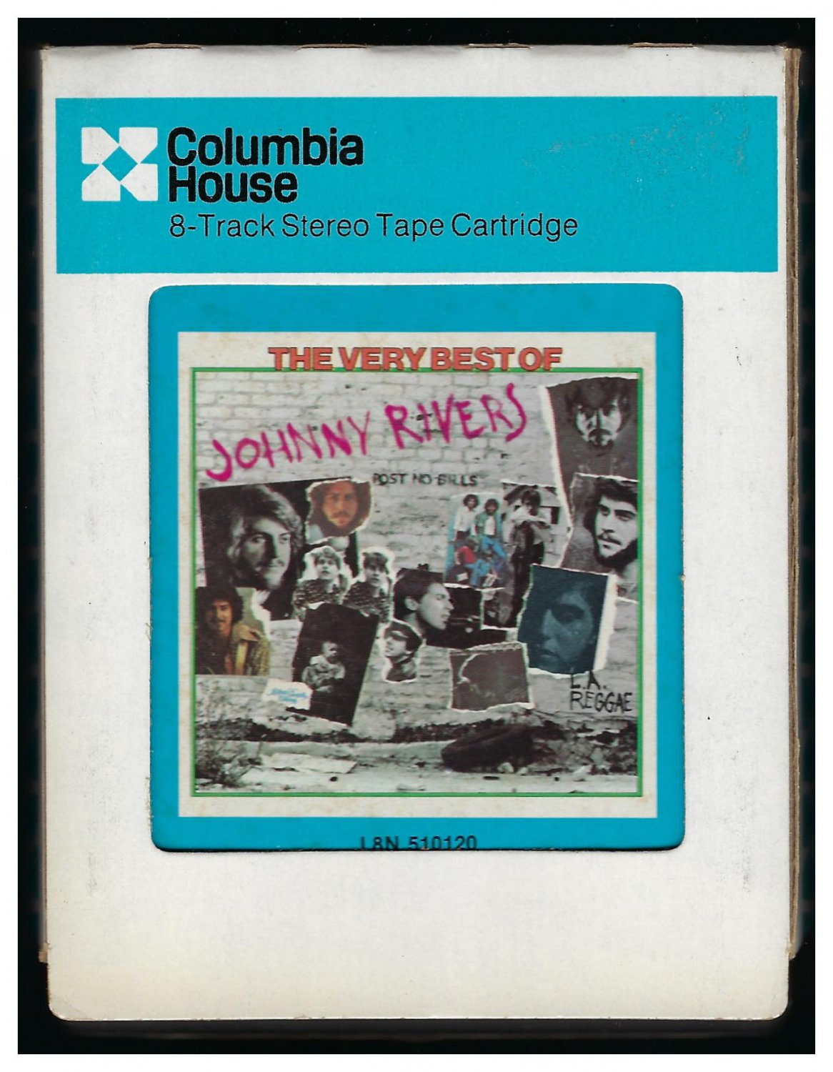 Johnny Rivers - The Very Best Of Johnny Rivers 1975 CRC Re-issue A29A 8-TRACK TAPE