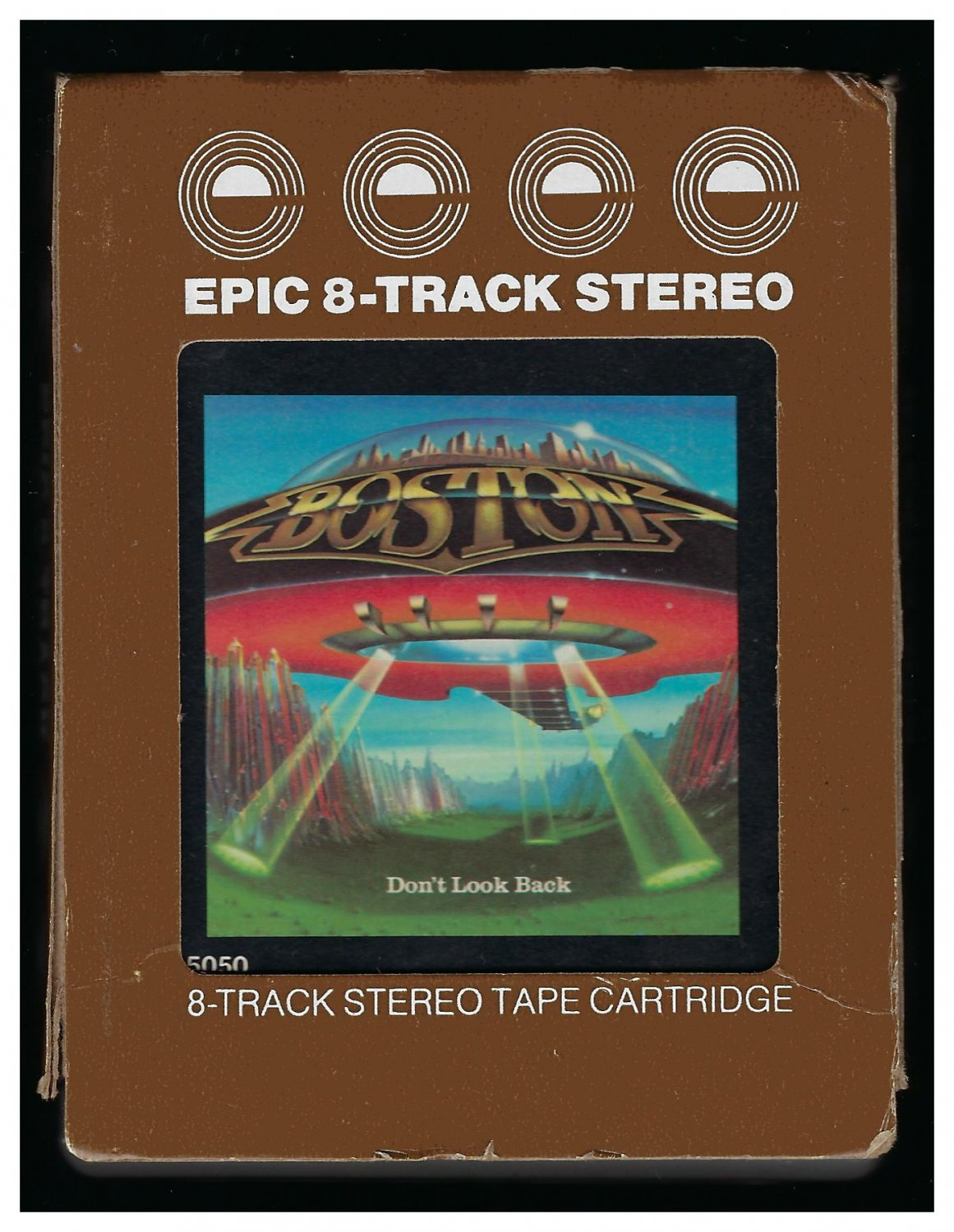 Boston - Don't Look Back 1978 EPIC A9 8-TRACK TAPE
