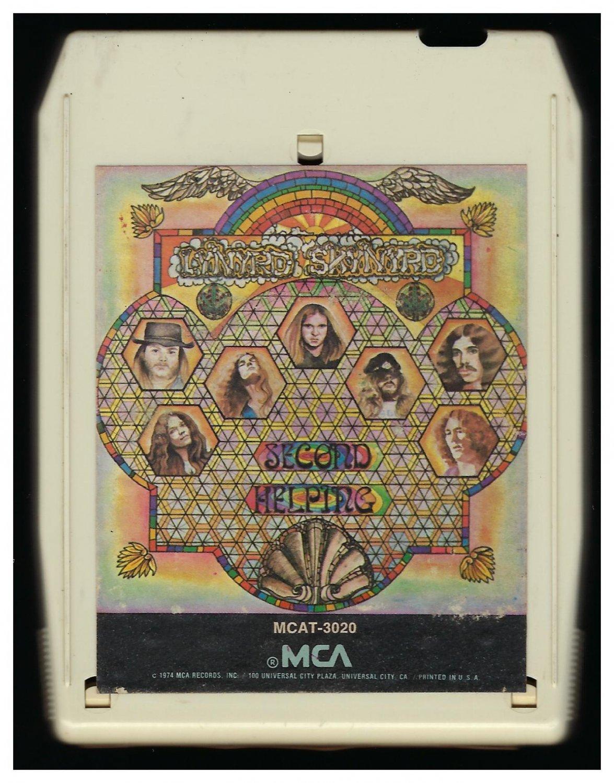 Lynyrd Skynyrd - Second Helping 1974 MCA T2 8-TRACK TAPE