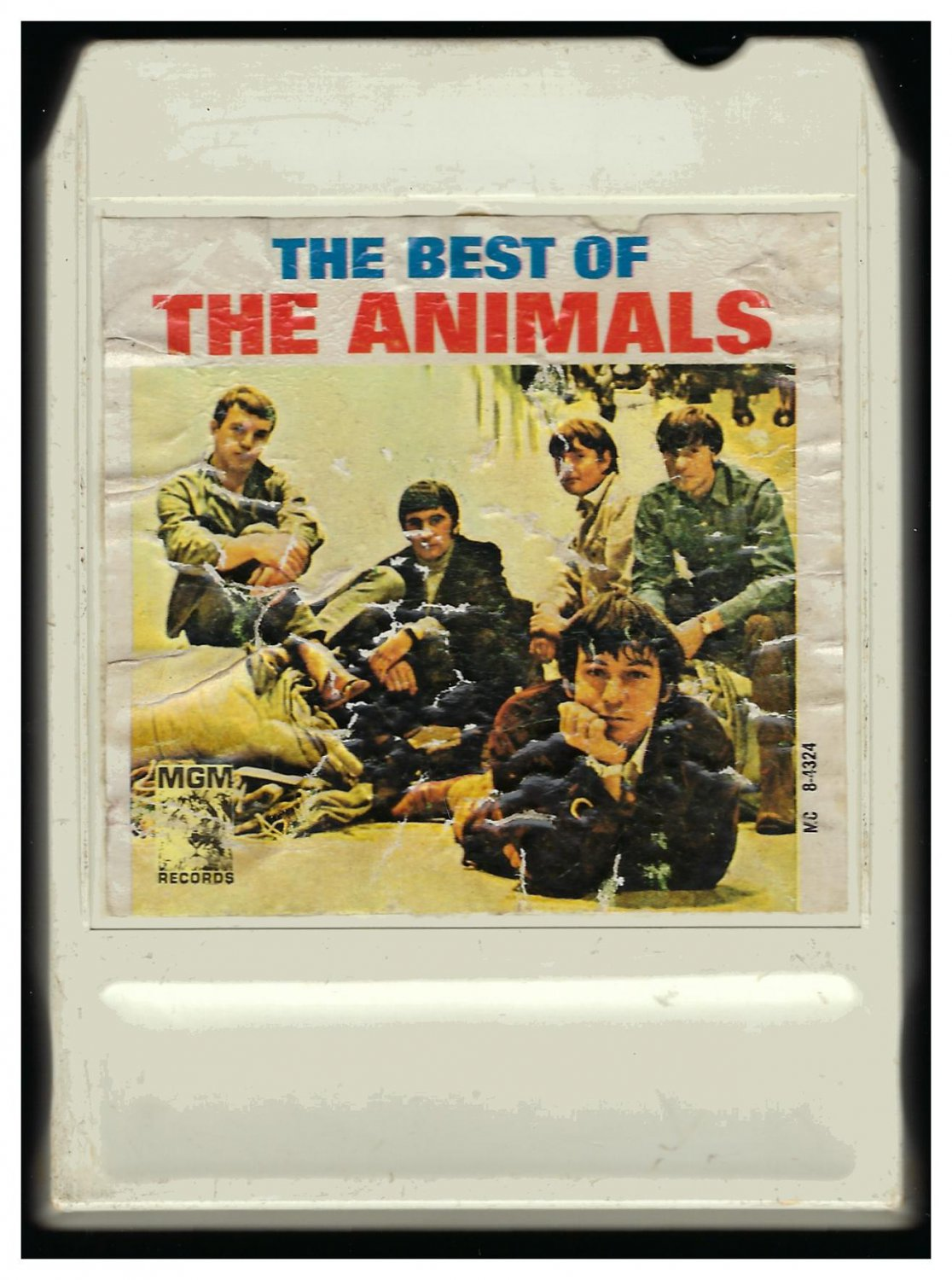 The Animals - The Best Of The Animals 1966 MGM LEAR AMPEX A19C 8-TRACK TAPE
