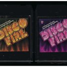Disco Fire - Various Disco Vol 1 & 2 1978 KTEL A23 8-track tape