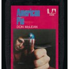 Don McLean - American Pie 1971 UA A23 8-TRACK TAPE