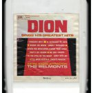 Dion and the Belmonts - Sings His Greatest Hits 1962 ITCC LAURIE A25 8-TRACK TAPE
